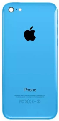 Задняя крышка Apple iPhone 5C синий