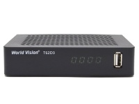 Тюнер T2 World Vision T62D3 (DVB-T2, T, C)