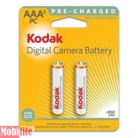 Аккумулятор KODAK AAA R03 Ni-MH 850mAh (Ready to use) 2шт. Цена за 1шт.