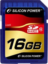 Silicon Power 16 Gb SDHC class 10