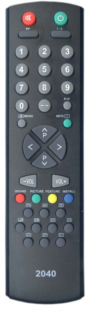 Пульт ДУ Rainford RC-2040, Vestel, Shivaki 11UV19-2
