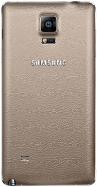 Задняя крышка Samsung N910H, N910C, N910F Galaxy Note 4 Gold