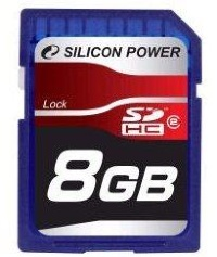 Silicon Power 8 Gb SDHC (class 2)