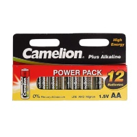 Батарейка Camelion AA LR06 12шт. (Plus Alkaline) Цена 1шт.