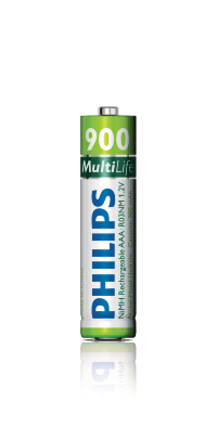 Аккумулятор Philips MultiLife Ni-MH AAA, R03 (900mAh) 4шт Цена за 1 елемент