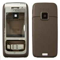 Корпус Nokia E65 brown