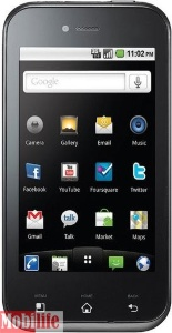 LG E730 Optimus Sol Black -