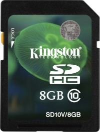 Kingston 8 GB SDHC Class 10 SD10V8GB