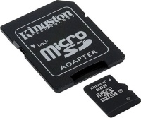 Kingston 8 GB microSDHC class 10 + SD Adapter SDC10/8GB