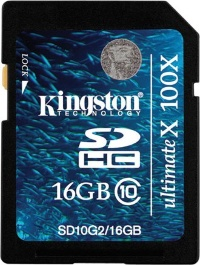 Kingston 16 GB SDHC Class 10 Gen.2 SD10G2/16GB