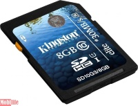 Kingston 8 GB SDHC Class 10 UHS-I Elite SD10G38GB