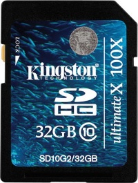 Kingston 32 GB SDHC Class 10 Gen.2 SD10G2/32GB
