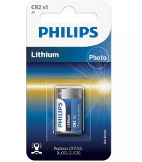 Батарейка Philips Lithium CR2 1шт