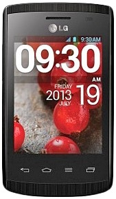 LG E410 Optimus L1 2 (Black) -