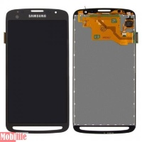 Дисплей (экран) для Samsung I9295 Galaxy S4 Active с тачскрином dark blue оригинал