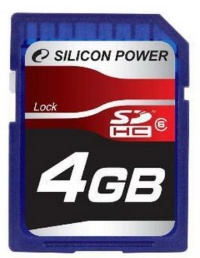 Silicon Power 4 Gb SDHC (class 6)