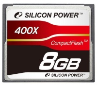 Silicon Power 8 Gb Compact Flash 400x