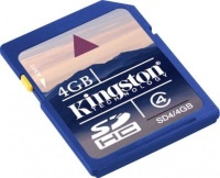 Kingston 4 GB SDHC Class 4 SD4/4GB