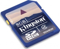 Kingston 8 GB SDHC Class 4 SD4/8GB