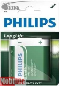 Батарейка Philips Longlife 3R12-L1B