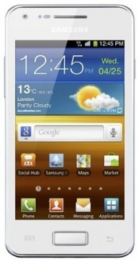 Samsung i9070 Galaxy S Advance ceramic white